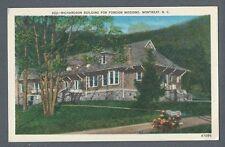Vintage Postcard Richardson Building, Montreat, N.C.