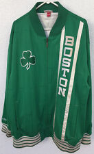 Boston Celtic NBA Warm Up Jacket