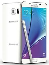 "Samsung Galaxy Note 5 N920A-White 64GB GSM ""Unlocked"" 4G LTE 5.7"" Screen. *New-O"