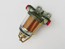 Classic Car AC Delco Type Fuel & Water Trap Glass Bowl + Cartridge Filter C13681