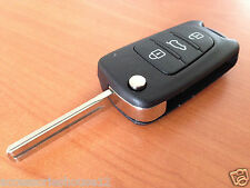 Hyundai Completed Remote Control Transponder FLIP Key For i30 434mhz (ID46 chip)