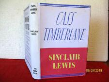 Sinclair Lewis CASS TIMBERLANE HC 1947 copy DJ A novel of husbands and wives