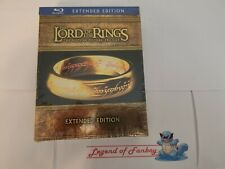 The Lord Of The Rings Trilogy Extended Edition - Blu-Ray Set * New Sealed *
