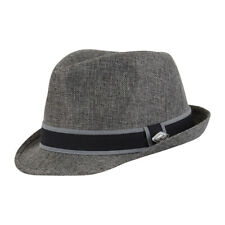 Chillouts Sacramento Sombrero Gris L XL Fedora de Fieltro Regulable Borde af2d759a576