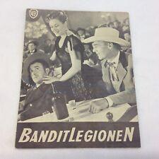 The Man Behind the Gun Randolph Scott Patrice Wymore 1953 Danish Movie Program