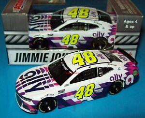 Jimmie Johnson 2020 Ally White #48 Hendrick Camaro ZL1 1/64 NASCAR Diecast