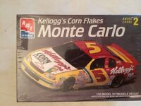 AMT KELLOGG'S Corn flakes #5 Monte Carlo 1/25 NASCAR TERRY LABONTE Sealed #8090