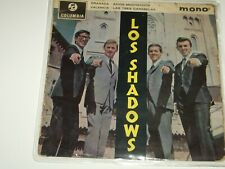 "THE SHADOWS  ***RARE NZ Pressing  7"" EP ' LOS SHADOWS ' 1963 GC-"