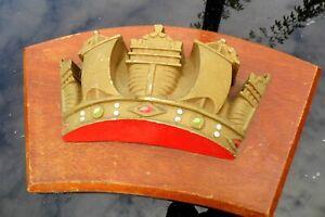 Royal Navy Ships Cast metal crest genuine original not copy Portsmouth mounted