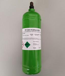 Kältemittel R134a mit Mehrwegflasche 1/4'' SAE Anschluss (Füllmenge: 0,9 kg)