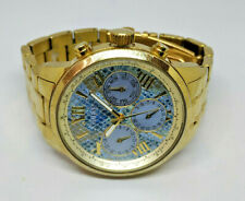 Ladies Gold Plated Guess Multi Dial Watch W0330L13