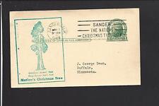 SANGER, CALIFORNIA,1949, GOVERNMENT POSTAL CARD, FRESNO CO./OP.