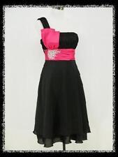 Damenkleider mit One Shoulder-Ausschnitt aus Chiffon in Übergröße
