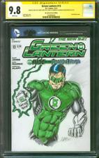 Green Lantern 13 CGC 2XSS 9.8 Kyle Raynor Original art Sketch Andy Smith Dunn