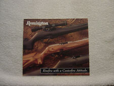 Remington 1997 model 597 catalog foldout