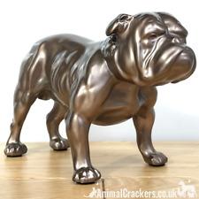More details for beauchamp bronze english bulldog sculpture ornament figurine statue collectable