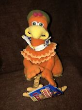 Vintage Dreamworks Chicken Run Ginger Beanie Animal T49
