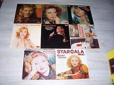 Sehr schöne Margot WERNER - Sammlung mit 9,neun verschiedenen LPs ! Mit Liste !