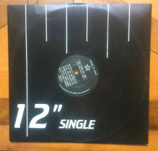 """The Sisters Of Mercy – No Time To Cry 12"""", Single, 45 RPM Feb 1985"""