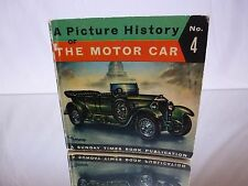 BOOK A PICTURE HISTORY of THE MOTOR CAR by PIET OLYSLAGER- SUNDAY TIMES - GOOD
