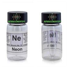 Neon gassoso elemento 10 Ne campione 99,9% mini ampolla in fiala etichettata