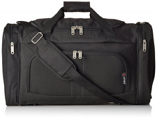 Carry On Lightweight Small Hand Luggage Flight Holdall Duffel Sports Bag Black