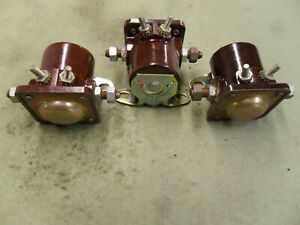 3 Starter Solenoid Switch 1959 1960 Checker Cab Ford Tractor 12V Marine