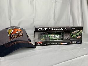 🔥2016 SS Chase Elliott color chrome #24 Mountain Dew 1 of 48 1:24 Scale Diecast