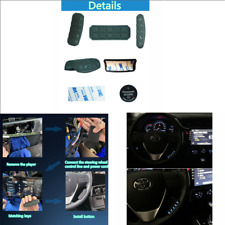 Car Blue Led Wireless Steering Wheel Remote Control For DVD Navigation player