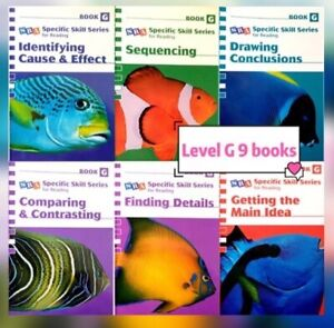 SRA Specific Skill Series For Reading 2006 Level G 9 Books OC Selective Scholars