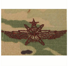Vanguard AIR FORCE EMBROIDERED BADGE: CYBERSPACE OPERATOR: SENIOR - ON OCP