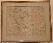 GRAVURE DE MERCATOR 1623 CARTE SAXONIA INFERIOR ET MEKLENBORG DVC