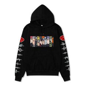 2021 Neue Naruto1 Sweatshirt Herren Damen Hoodie Pullover Pullover Unisex Top