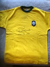 1ffd42868 Carlos Alberto signed Brazil shirt 1970 World Cup official signing photo  proof