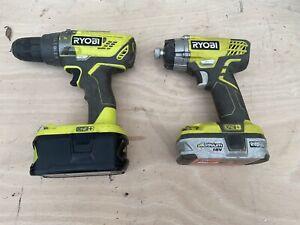 Ryobi One+ Drill & Impact Driver Set