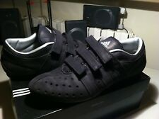 ADIDAS ROWING TR scarpe uomo colore nero scamosciato taglia 10,5  44 2/3 28,5 cm
