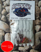 Catfish, 23 piece bait holder~ BOMB-A-BAIT™ (Catch More Fish!)