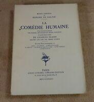 OEUVRES COMPLETES DE BALZAC 29 LA COMEDIE HUMAINE - EDITIONS LOUIS CONARD 1926