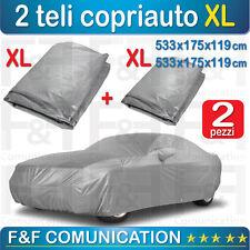 TELO COPRI AUTO COPRIAUTO XL + XL ANTIGELO ANTIGRAFFI POLVERE GRANDINE 2 PEZZI
