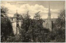 MAULBRONN ~1905 alte Postkarte Faust-Turm und Klosterkirche Kirche AK ungelaufen
