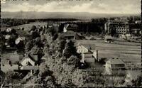 Friedrichsbrunn Harz DDR Postkarte 1951 gelaufen Teilansicht Panorama