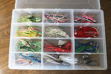 Assorted lot of Squid Tail Jigs