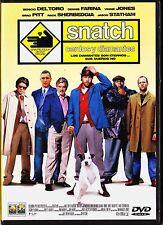 Guy Ritchie: SNATCH, CERDOS Y DIAMANTES con Brad Pitt, Benicio Del Toro...