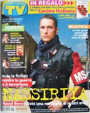 TV Sorrisi-'07-RAOUL BOVA,Michelle Hunziker,Fabrizio Moro,Simone Cristicchi,n.12