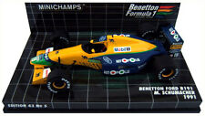 Minichamps benetton ford B191 1991-michael schumacher 1/43 scale