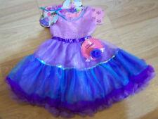 Size 3-5 X Cutie Boutique Tutu Costume Dress w Bonus Bracelet Purple New