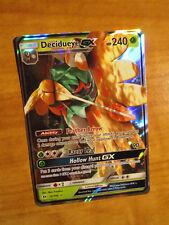 LP Pokemon DECIDUEYE GX Card SUN and MOON Base Set 12/149 SM Ultra Rare TCG