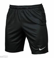 Nike Park II Knit Dri Fit Mens Adults Sports Football Gym Casual Shorts Black