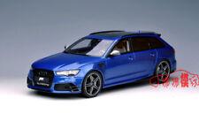 GT Spirit 1:18 Audi RS6 ABT Avant C7 Tour Car Die Cast Model Blue RARE