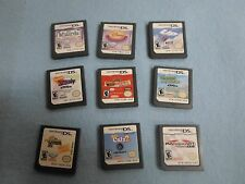 Set of 9 Nintendo DS Games: Disney Games, Nickelodeon, Mario, Petz Catz 2*BW-A3